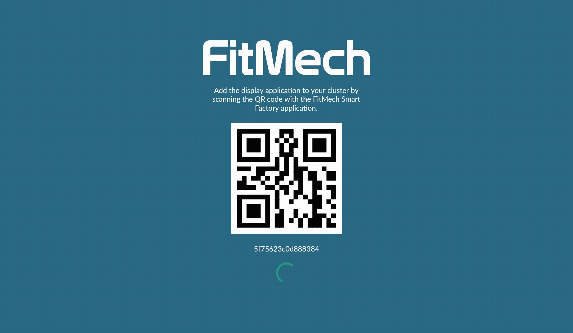 FitMech Display mobile application
